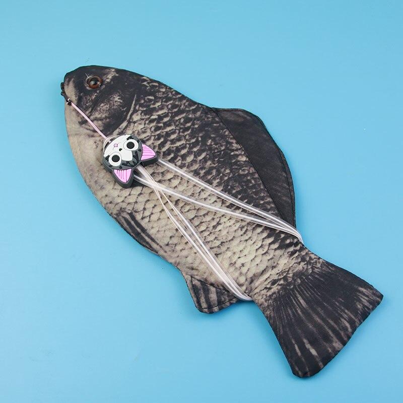 1pc Creative Fish Pencil Box Large Capacity Upgrades School Gift Fun Fountain Pen font b Bag