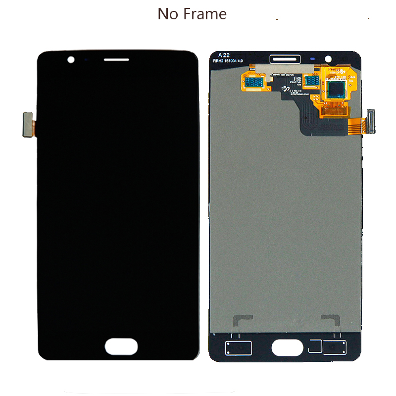 Image 4 - 5.5 inch AMOLED display for Oneplus 3T A3010 oneplus 3 A3000 A3003 LCD  touch screen digitizer screen repair parts with frame-in Mobile Phone LCD Screens from Cellphones & Telecommunications
