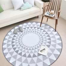 Best Selling Coral Fleece Polyester Bedroom Living Room Round Carpet Children Play Carpet Area Rug  Carpet  carpets for living crearoma best selling air scent systems for small area