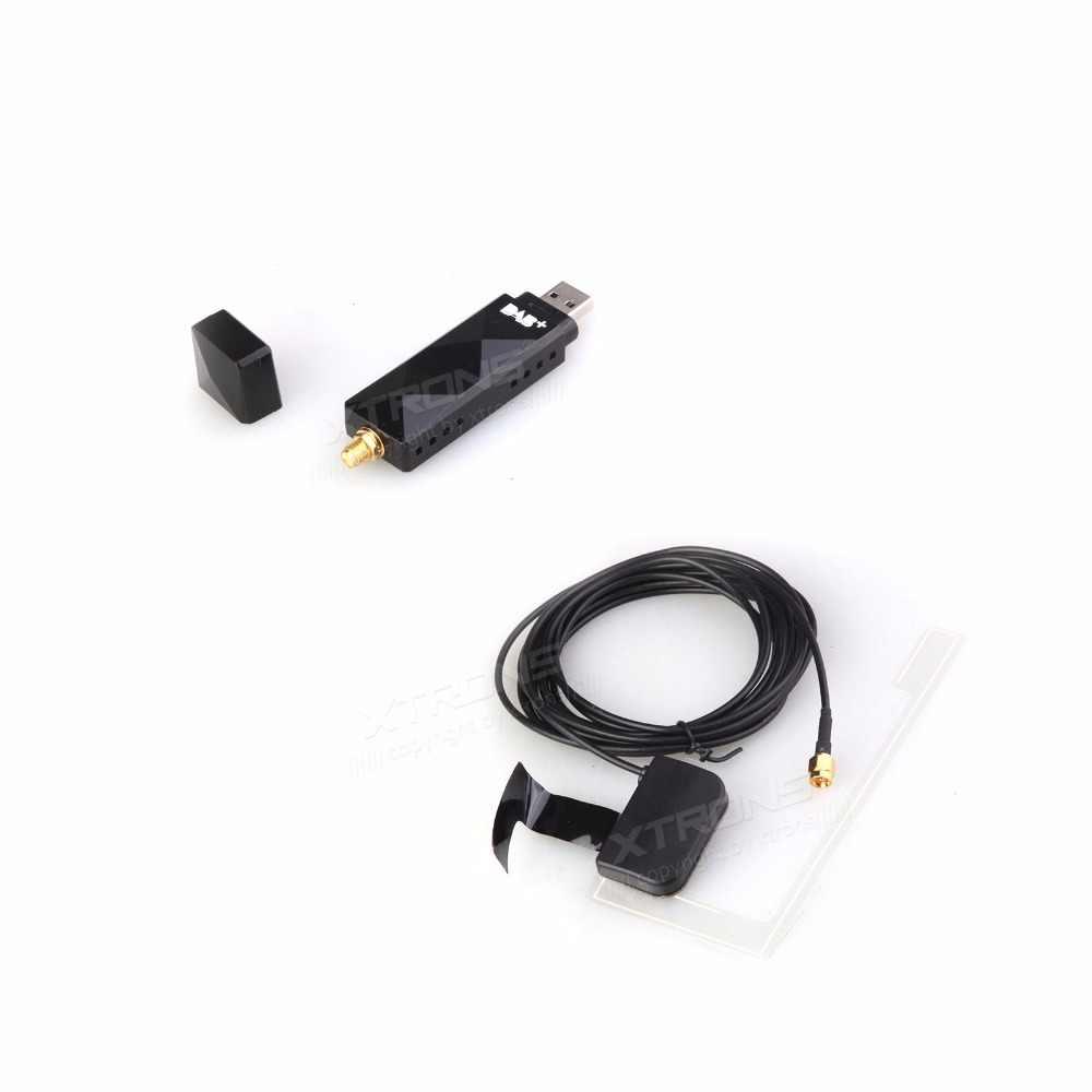 XTRONS USBDAB01 USB 2.0 Digital DAB + Radio Tuner Receiver Vara Apenas para XTRONS Android 5.1 6.0 7.1 e 8.0 aparelhos de som de carro