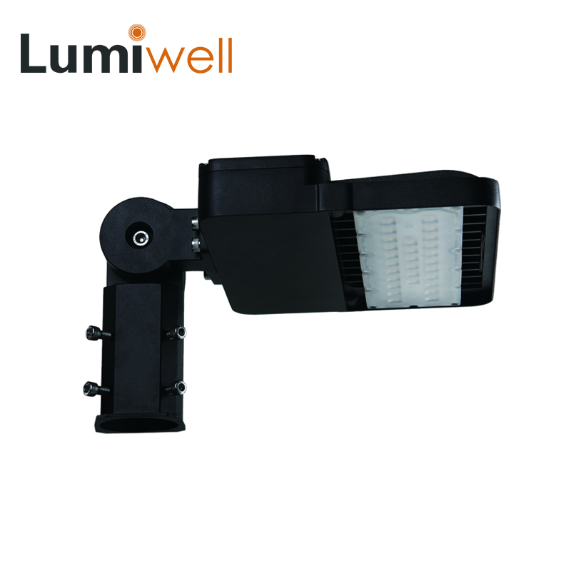LUMIWELL 100W LED street light waterproof IP65 AC100-270V outdoor garden road lamp warm white cold cool white ETL CE RoHS