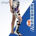 Hip altura do joelho Tornozelo Ajustável Pé Ortopedia fratura brace Titular frete grátis
