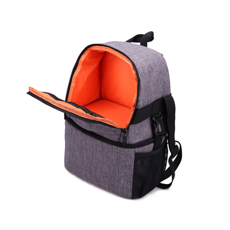 Photo Camera DSLR Video Waterprpof Oxford Fabric Soft Padded Shoulders Backpack SLR Bag Case for Canon Nikon Sony