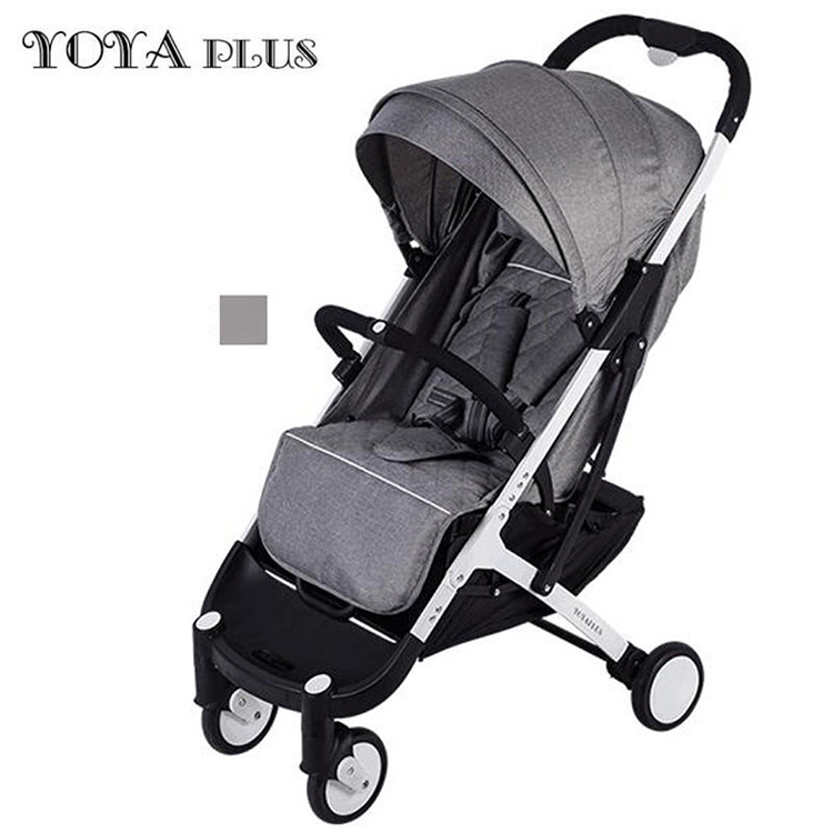 YOYA PLUS baby strollers ultra-lightweight folding can sit can lie high landscape umbrella baby trolley summer and winter 1