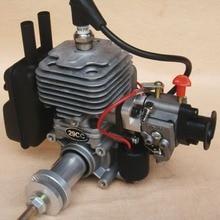 Радиоуправляемая с газовым двигателем 29cc одноцилиндровая двухтактная. Двигатель воздушного охлаждения для самолета RC