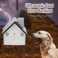 Ultradźwiękowy Odstraszający Bird House Projekt Pet Dog Bark Kontroler do Użytku Na Zewnątrz Wewnątrz Anti Barking Urządzenia dla Psów Kora Zatrzymując