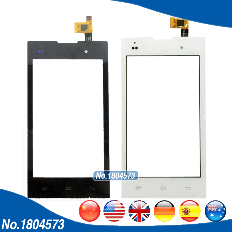 Touchscreen Sensor For Fly IQ4418 Era Style 4 IQ 4418 Touch Screen Digitizer Front Glass Replacement 1PCS/Lot
