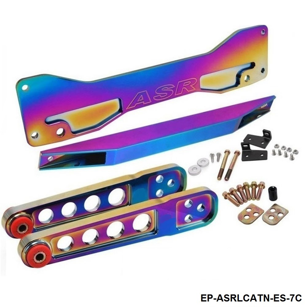 Neochrome Rear Subframe Brace Lower Tie Bar Lower Control Arm LCA For Honda Civic Acura RSX