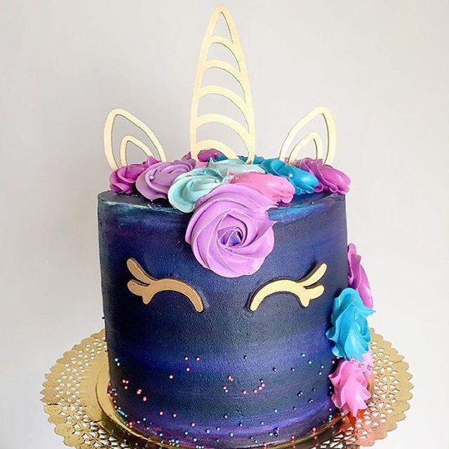 Unicorn Wedding Cake Topper Event Party Decorations Acrylic