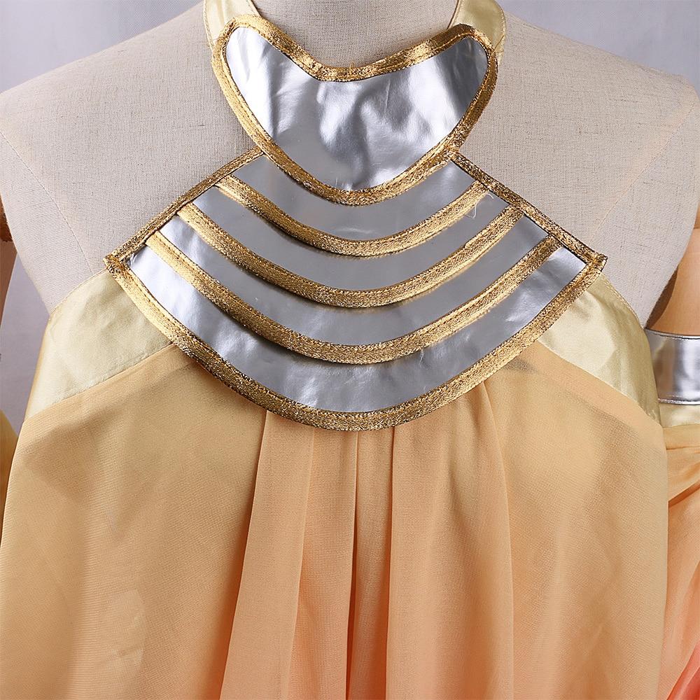 2017 Star Wars Costume Revenge of the Sith Padme Amidala Lake Dress Star Wars Padme Amidala Costume Cosplay Dress Custom Made