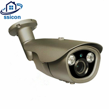 SSICON Waterproof Bullet 4.0MP Surveillance Camera AHD Outdoor 2.8-12mm Varifocal Zoom Lens Security Camera IR Distance 40M