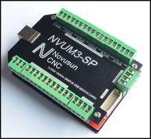 Новый 4 Оси 100 КГц Четыре Оси Драйвер Шагового Двигателя Breakout совета USB MACH3 USB ЧПУ Интерфейсная Плата для ЧПУ Гравировальный Станок машина