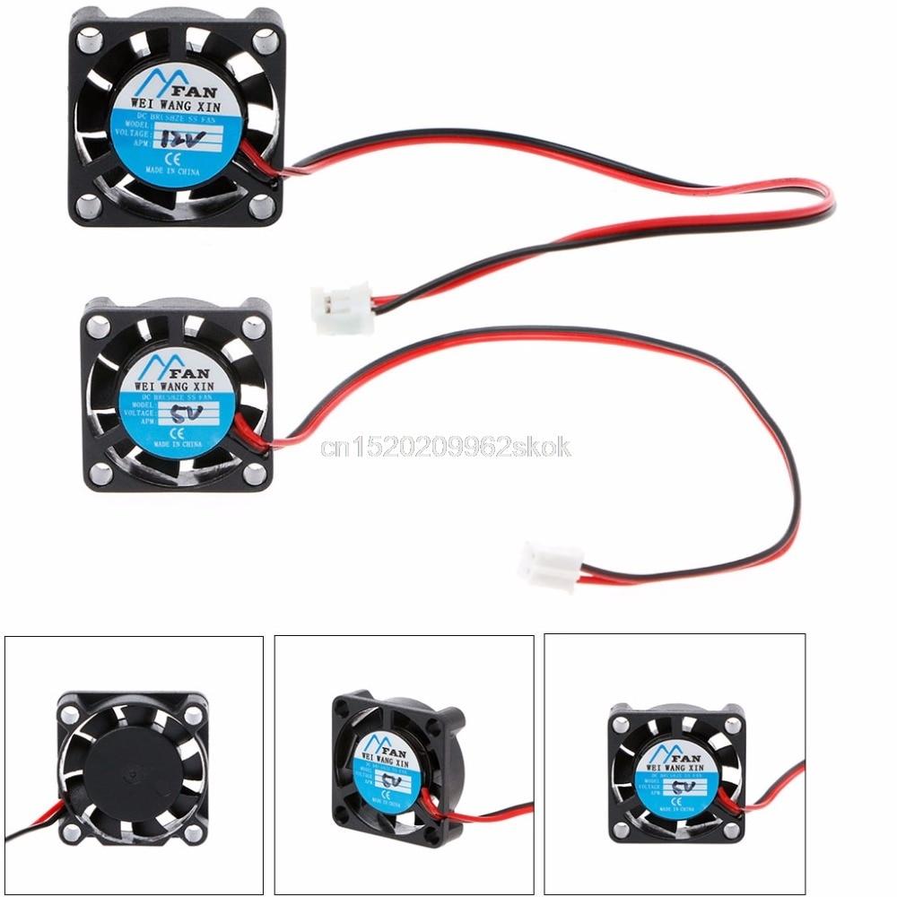 25*25*7mm DC 5V 12V 2-Pin Cooler Brushless Chipset Heatsink Mini Cooling Fan 2507 #H029# for asus u46e heatsink cooling fan cooler