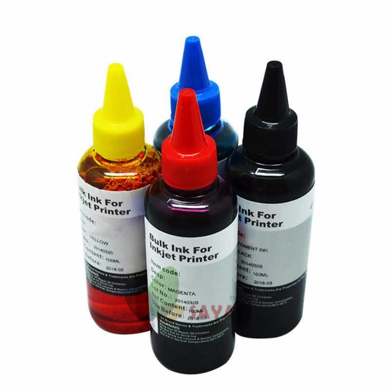 Kit de recarga de tinta Universal de 400ML para Epson Canon, HP, Brother, Lexmark, DELL, Kodak, impresora de inyección de tinta CISS, cartucho de tinta de impresora
