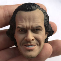 Jack Nicholson Head Sculpt 1/6 Scale Male Soldier Shining Evil expression Head for 12inch Action Figure Collection toy