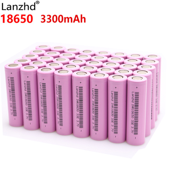 Lanzhd Rechargeable Batteries 18650 Battery Li ion 3.7V 3300mAh INR18650 lithium Li-ion 18650 30A 18650VTC7 18650 (5-40pcs) цена 2017