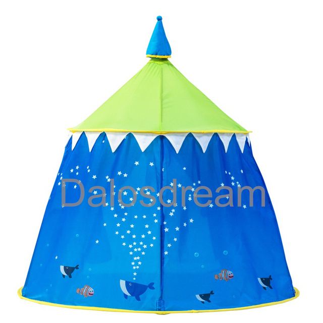 Dalosdream Sea world Castle Kids Play Tents Beautiful Indoor Foldable Play Toy Tent Ball Pool Yurt  sc 1 st  AliExpress.com & Dalosdream Sea world Castle Kids Play Tents Beautiful Indoor ...