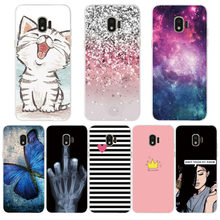 Silicone Case for samsung J2 2018 case cover for Samsung Galaxy j 2 j2 2018 sm-j250f j250 case Fundas soft tpu cover phone coque(China)