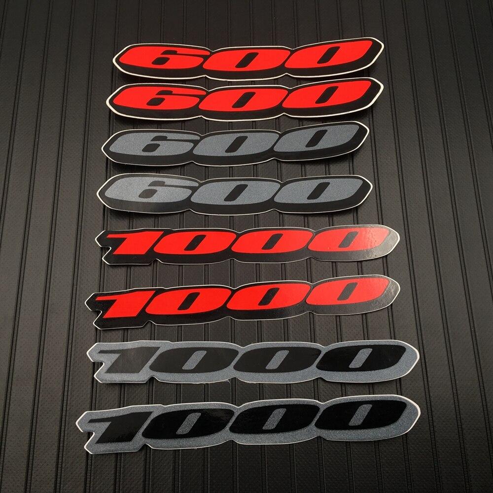 Motorcycle Fairing Tail Sides 1000 600 Red Sticker Decal Emblem For Suzuki GSXR 600 1000 GSXR1000 GSXR600 Accessory
