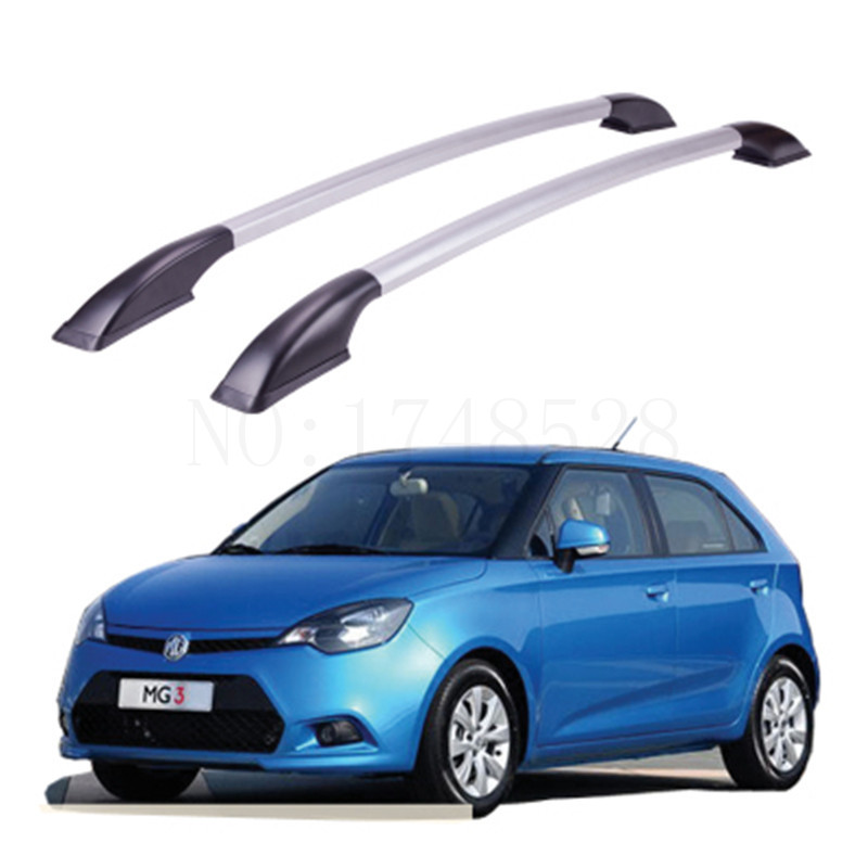 Accessories Refitting the roof rack of aluminum alloy luggage rack for MG MG3 Auto parts 1.3M free of punch auto parts refitting the roof rack of aluminum alloy luggage rack for suzuki swift 1 3m accessories