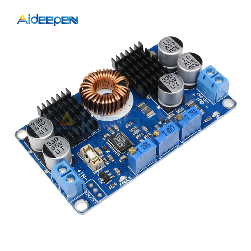 1Pcs LTC3780 10A Automatic Step Up Down Regulator Constant Voltage Current DC5-32V to 1V-30V Charging Module Power Supply Module