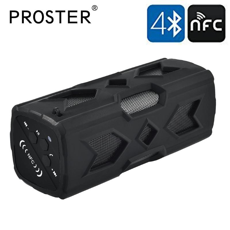Portable Bluetooth NFC CSR 4 0 Wireless Speaker Waterproof USB Power Bank Bass Audio Wireless Adapter