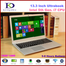 "13.3"" Powerful Intel i7 5th Generation Laptop Computer, Ultrabook, 4GB RAM 64GB SSD, 1920*1080, Full Metal Case, 8 Cell Battery(Hong Kong)"