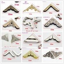 Lucia crafts 24 шт больше стилей разных цветов опция металлическая книга Скрапбукинг Альбомы меню Угловые протекторы G0807