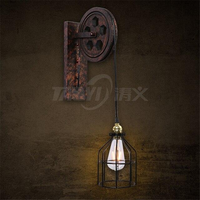 Fabrikanten groothandel industriële wandkandelaar vintage wandlampen ...