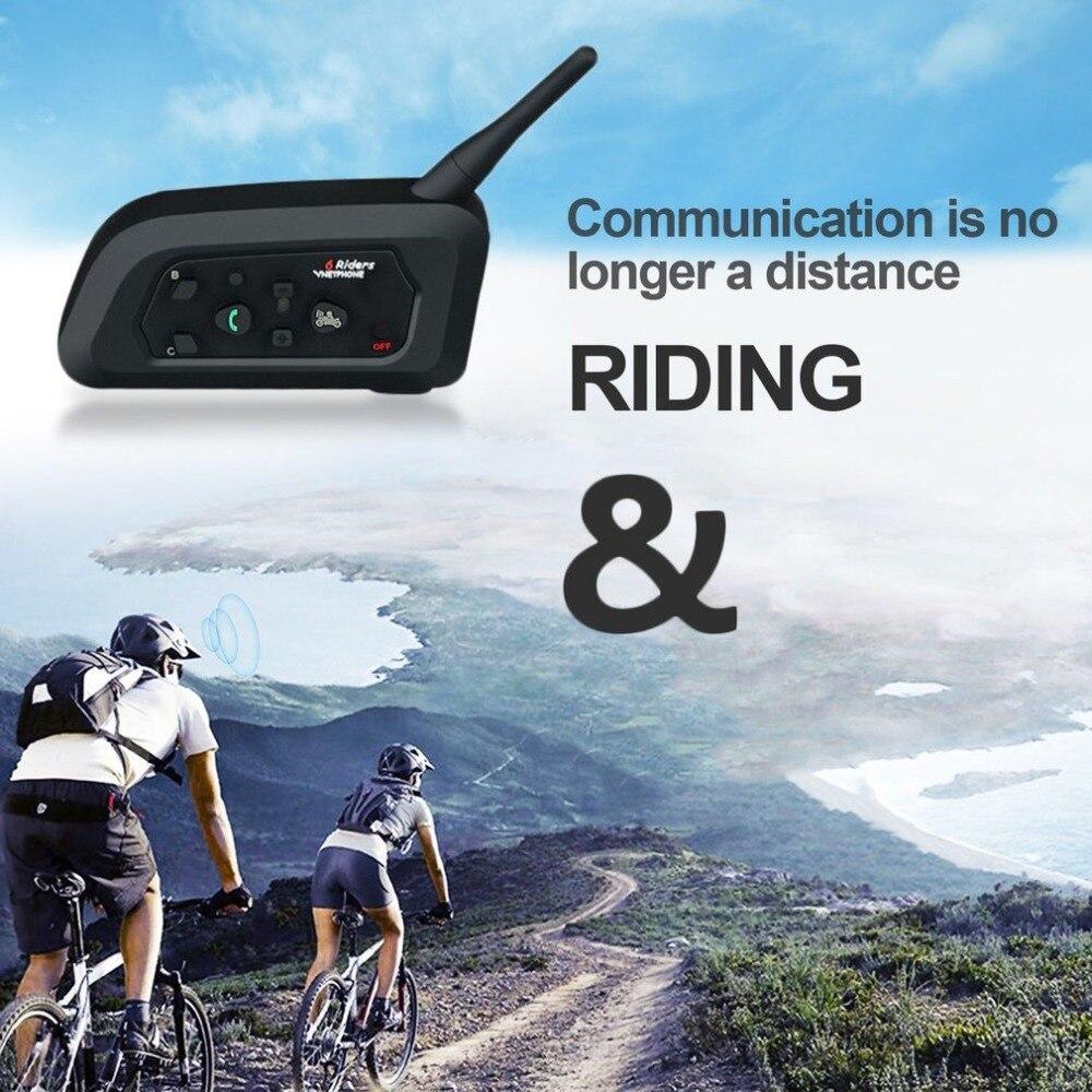 V4C Portable Walkie Talkie With Single Head Receiver & Arm Bag Sports Games Intercom Cycling Climbing Comunicador Bluetooth 3.0