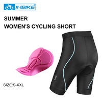 INBIKE Women Cycling Shorts With Quick Dry Breatherable Bike Shorts Mountain Bike Shorts Downhill Culotte Ciclismo
