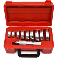 10pc Bearing Race Seal Driver Tool MASTER Set with Storage Case Wheel Axle NEW