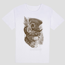 Fashion Chameleon Steampunk cat Clothes Young Round Collar Womens T Shirt Wholesale Wholesale T Shirts