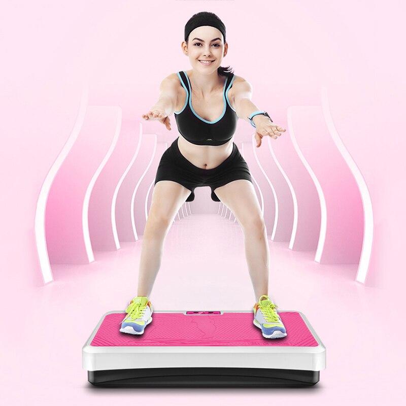 Dimagrante macchina in remoto di controllo di bruciare i grassi muscle massager di vibrazione bordo dimagrimento perdita di peso attrezzature per il fitness dispositivo HWC