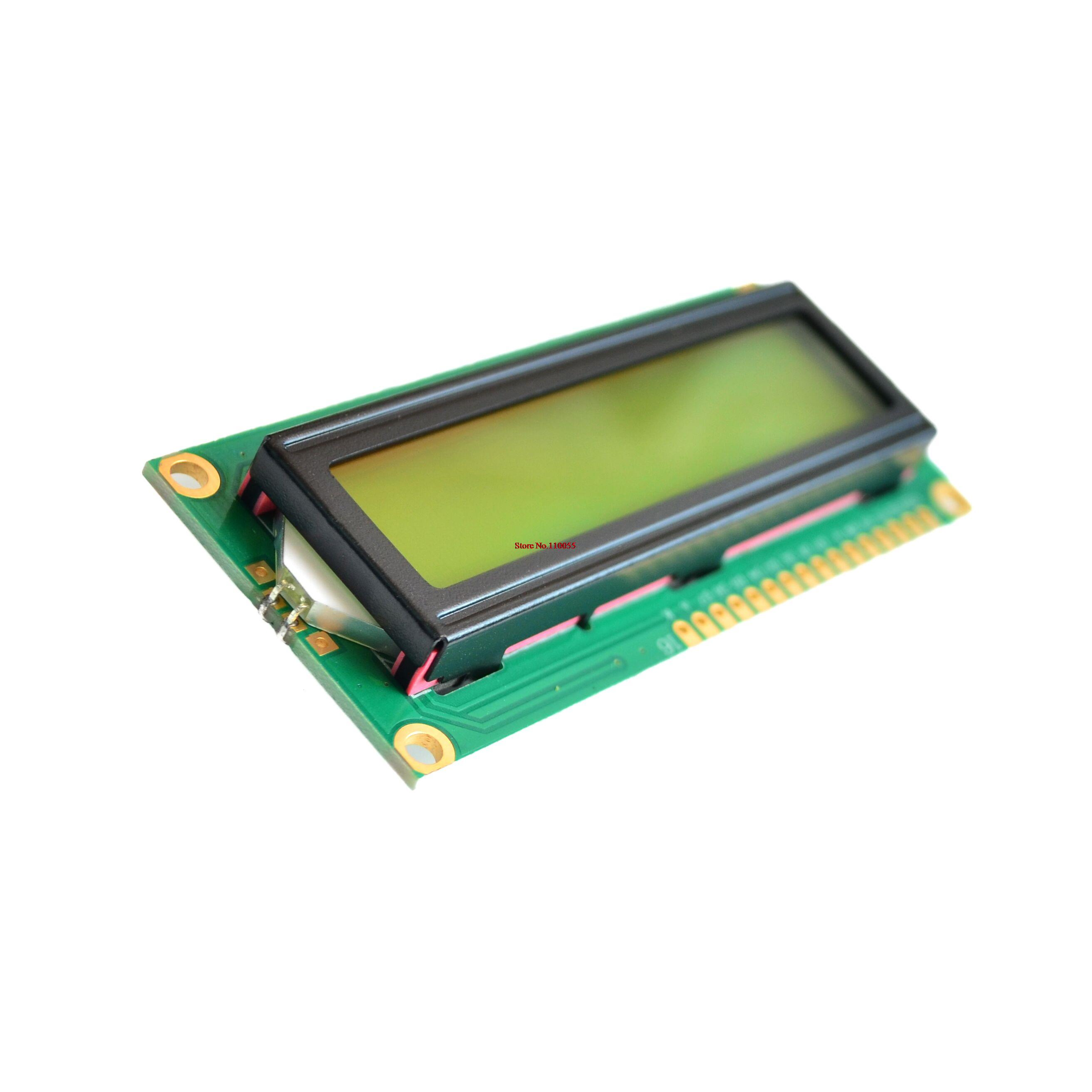 16x2 Character Lcd Display Module With Fpc Connector Acm1602fa 2x16 162 16 X 2 1602 Arduino Raspberry Lcm Yellow Green In Modules From Electronic Components Supplies