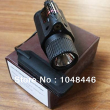 M6 Tactical Pistol LED Flashlight Red Laser Combo Sight for Rifle Scope