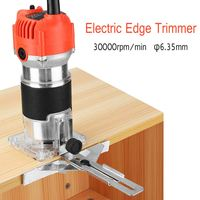 220v 680W 30000RPM 6 35MM Multi Function Woodworking Electric Edge Trimmer Woodworking MachineWood Edge Cutter Router
