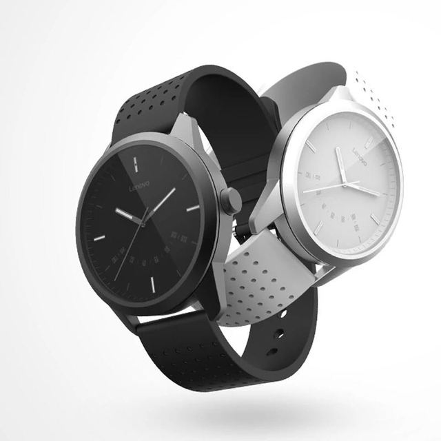 Stylish Round Shaped Water-Resistant Silicone Smart Watch