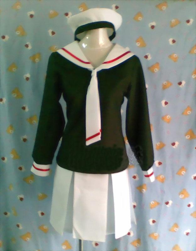 Cardcaptor sakura  cosplay anime clothes school uniform convention costumes Customize free shipping