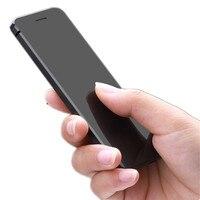 ULCOOL V36 Téléphone Ultra-Mince téléphone portable de carte de crédit en métal corps bluetooth dialer téléphone portable FM mp3 double carte SIM