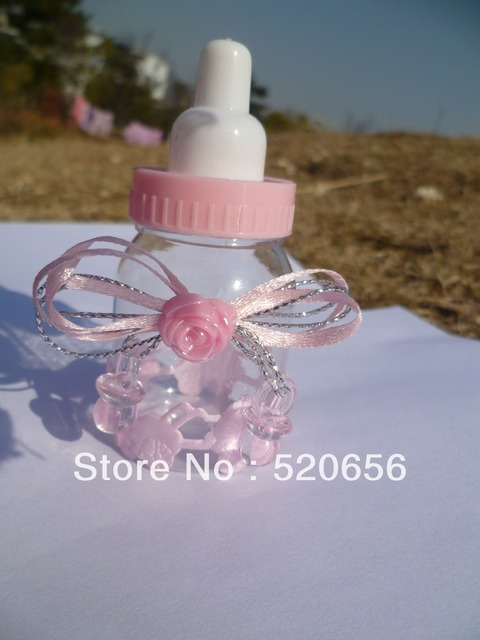 aliexpress  buy new  cute baby bottles baby shower favors, Baby shower invitation
