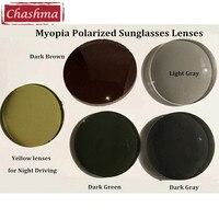 1 50 Index Myopia Sunglasses Lenses Anti Glare Polarized Prescription Lenses For Driving And Fishing