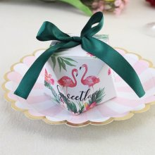 OUDIROSE New Creative Marble Pattern Candy Box Wedding Gift Decoration Box Bomboniera Gift Box Party Supplies Baby Shower Tray(China)