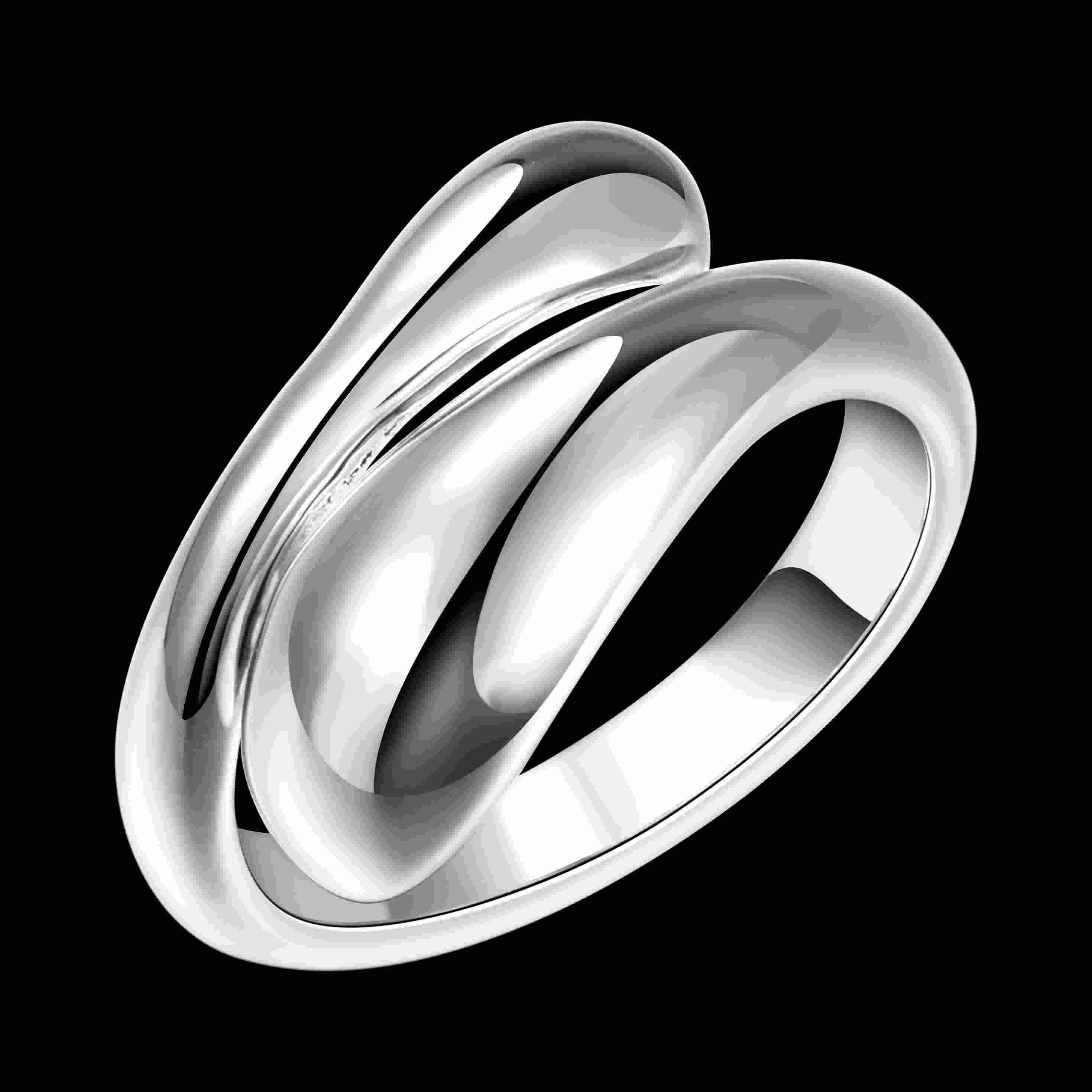Fashion jewelry silver rings raindrop/waterdrop ring for women/men Drop Shopping Brincos 925 stamp aneis bijouterie