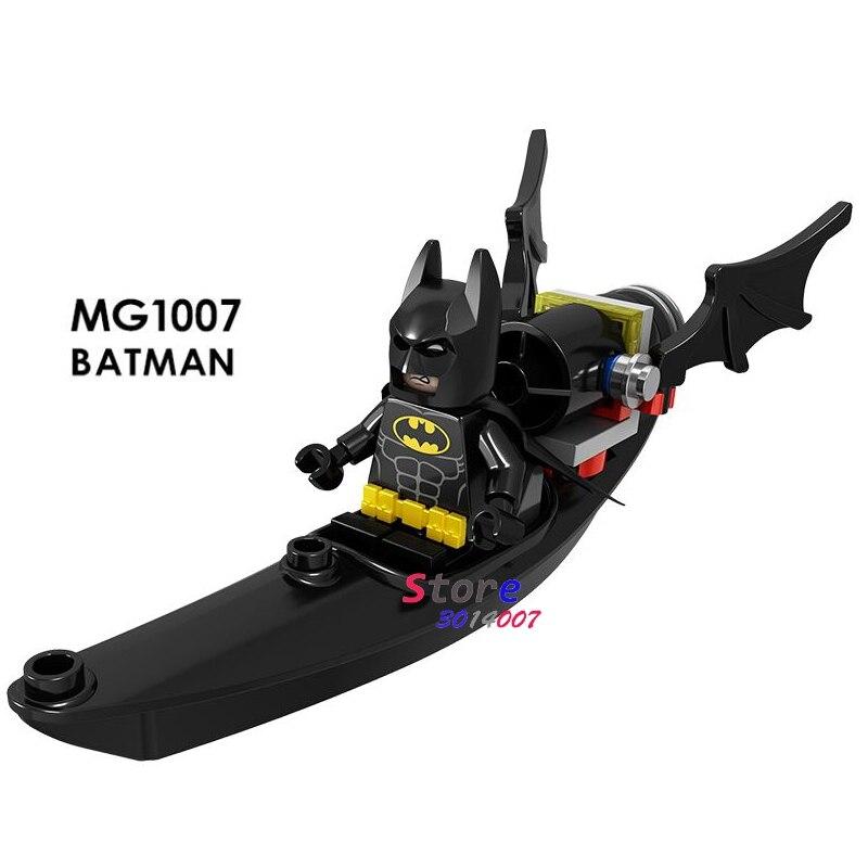 50pcs Super Hero Batman Battle Airship Movie Deadpool 2 Domino Cable Peter Rey Action building block