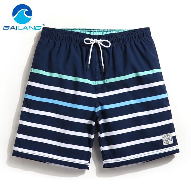 Gailang Brand Men Board Shorts Beach Boxer Trunks shorts Swimwear Swimsuits Quick Drying Man Casual shorts bermudas masculina