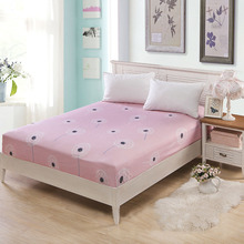Bed Sheet Without Pillowcase Dandelion Printed Bed Linen Queen King Size Mattress Covers Fitted Sheet Sets