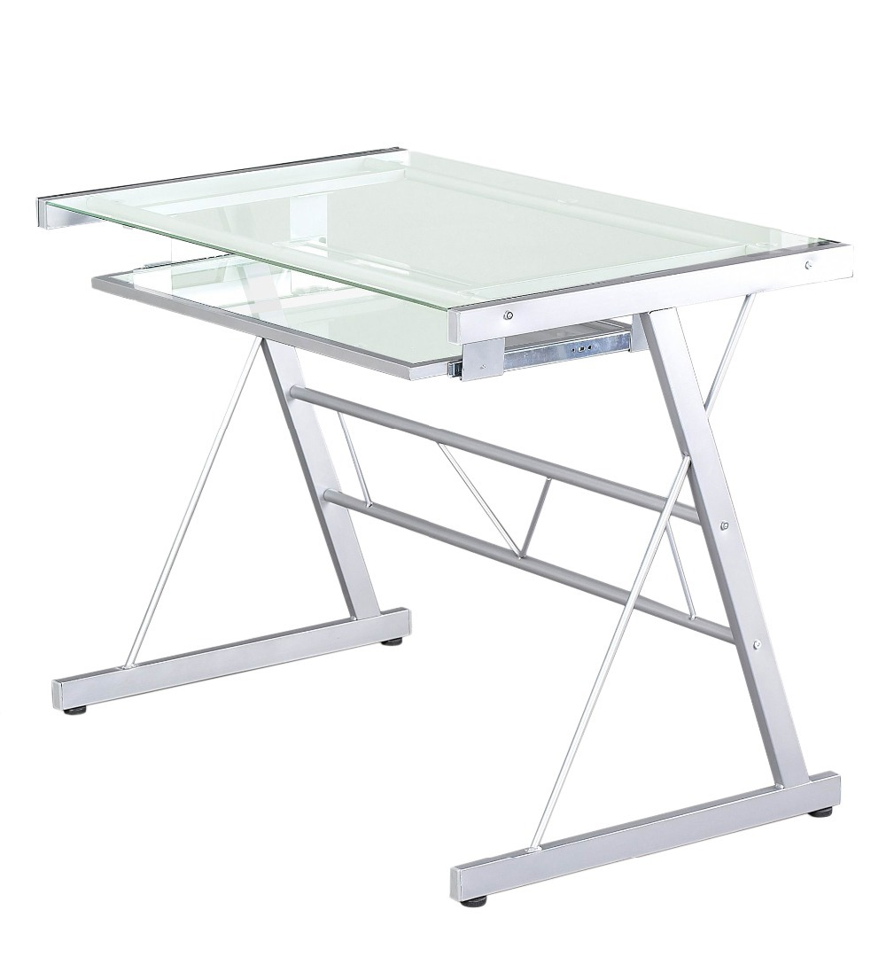Transparent Glass Portable Laptop Foldable Table Adjustable Computer  Desk,Ship From UK In Computer Desks From Furniture On Aliexpress.com |  Alibaba Group