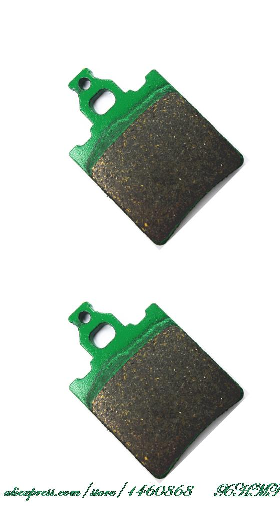 Disc Brake Pads Set For Cagiva Aletta 125 Electra (84&Up) (88&Up) (00&Up) Dak Ar 125 (85&Up) Elefant 125 (84&Up) (85-86) (00&Up)