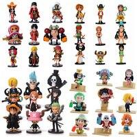 Аниме  цельные ПВХ фигурки  милые игрушечные мини-фигурки  коллекция моделей  игрушки  набор из 9 предметов  бесплатная доставка